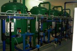 Remont układu podawania ciśnienia wody w stacji uzdatniania wody