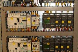 Automatyki filtra workowego nad podajnikami kubełkowymi