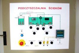 Wykonanie instalacji elektrycznej dla podczyszczalni ścieków w Kutnie